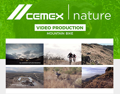 Cemex Nature | Video Production (Mountain Bike)