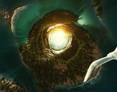 Tube island