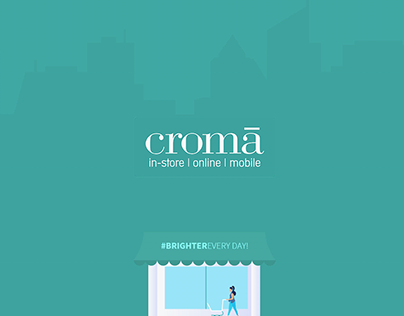 Croma Redesign Concept.