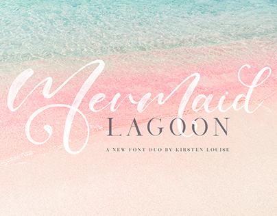 Mermaid Lagoon SVG Font Duo