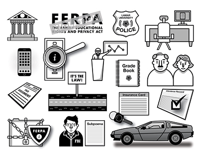FERPA Course Branding & Illustration