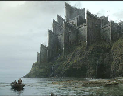 Game of Thrones - matte paintings