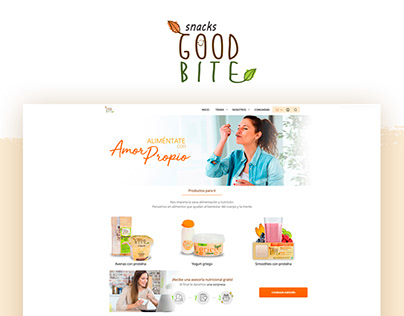 Snacks Good Bite | E-commerce