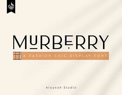 Murberry | Free Fashion Font
