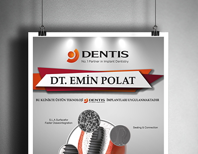 Dentis Implant Clinic Posters