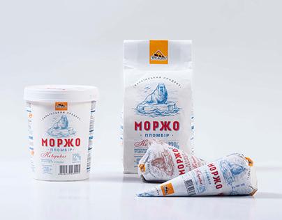"Ice cream ""Morzho"""