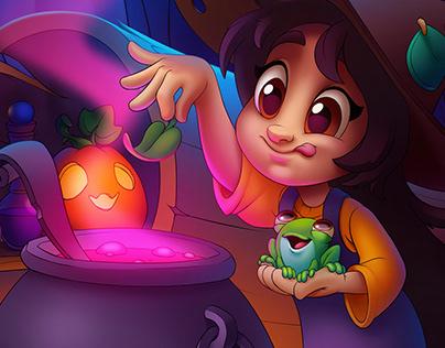 Itty-Bitty Witch