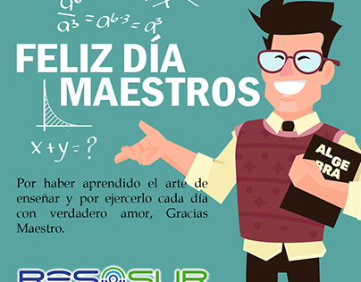Día de maestros peruanos.