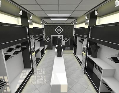 AdHoc Boutique diseño de espacio comercial
