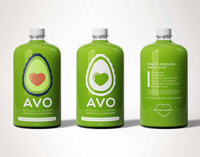 AVO Drink Branding