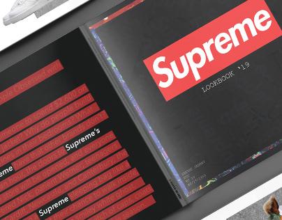 Lookbook'19 supreme