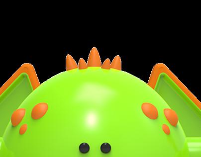Bebo Monster Toy