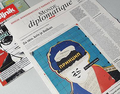 Gavrilo Princip For Le Monde Diplomatique