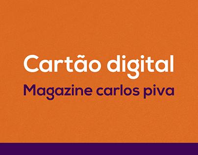 Cartão de visita digital - Magazine Carlos Piva