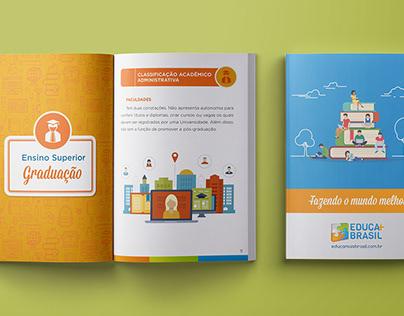 Criação / Diagramação de Cartilha - Educa Mais Brasil