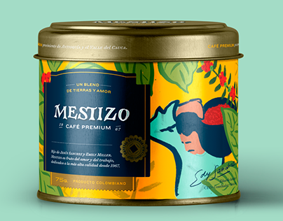 Mestizo - Coffee Packaging