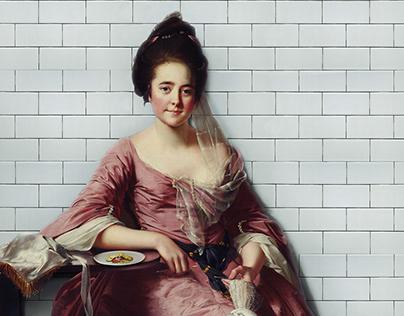 Portrait WC Woman