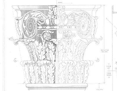Column Detail Drawing