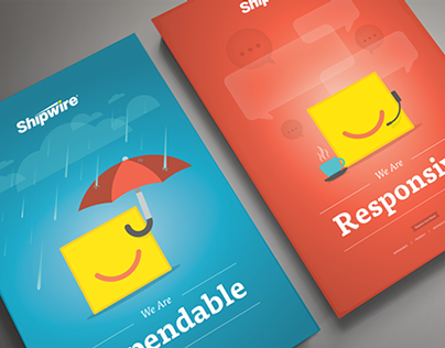 Shipwire Core Values Posters