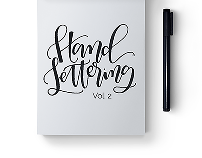 Hand Lettering Volume 2
