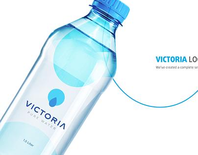 VICTORIA Water Brand Identity