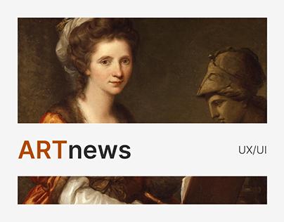 ARTnews – redesign of the news site
