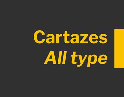Cartazes All type