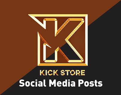 Kick Store - Social Media Posts