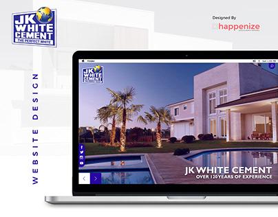 JK Cement - Website Design