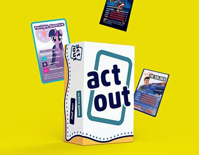 ActOut - Active Card Game for Hasbro Internship