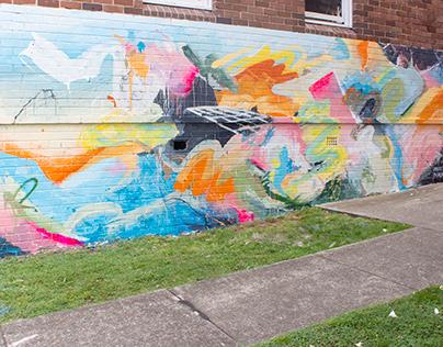 Evolve Housing Mural