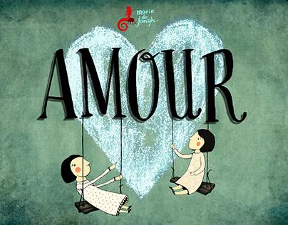 """""""AMOUR"""" Marie de Jongh teatroa"""