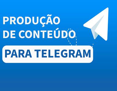 Produção de Conteúdo para Telegram