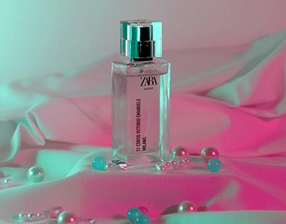 Zara Milano Perfume : Product Photography