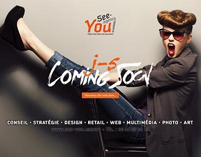 My new identity, logo, website...