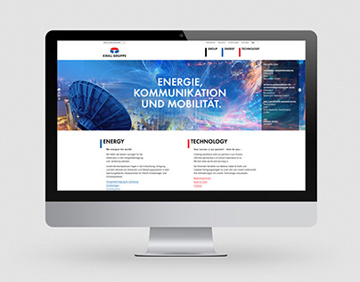 KNILL GRUPPE Website