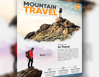Travel agency flyers templates.
