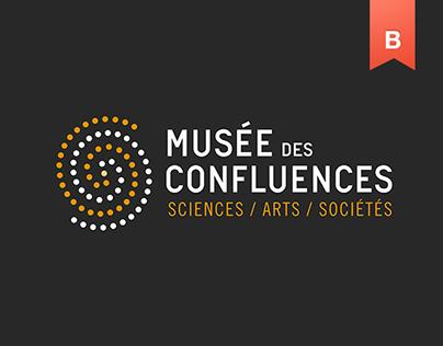 Musée des Confluences Brand identity Project