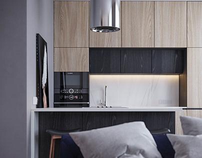 Дизайн-проект квартиры в сталинке