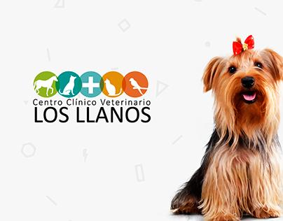Centro Clínico Veterinario Los Llanos - Diseño UI