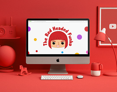 The Red Headed Funko (Youtube Identity / Design)
