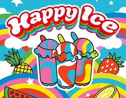 Happy Ice - Illustrations, Branding, Social Media Food