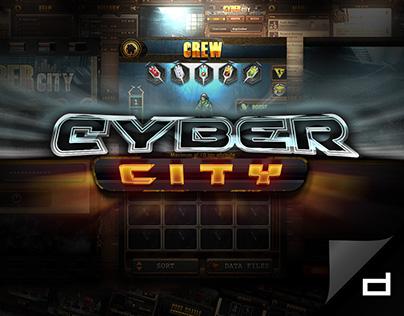 Cyber City | UI & Icon Design