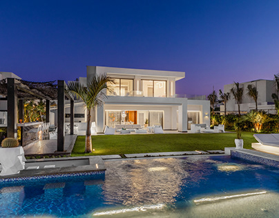 Hacienda White Villa by Line-Architectural Photography