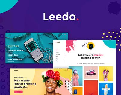 Leedo – Creative Portfolio WordPress Theme