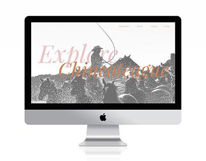 Web Design: Chincoteague Island Tourism Website