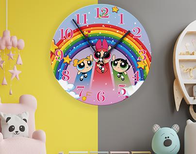 Children's clock design studies