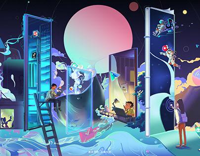 LOGO extension illustration