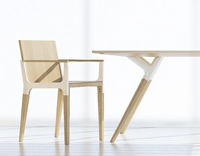DS12 Desk&Chair