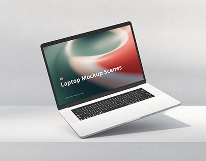 Laptop Mockup Scenes
